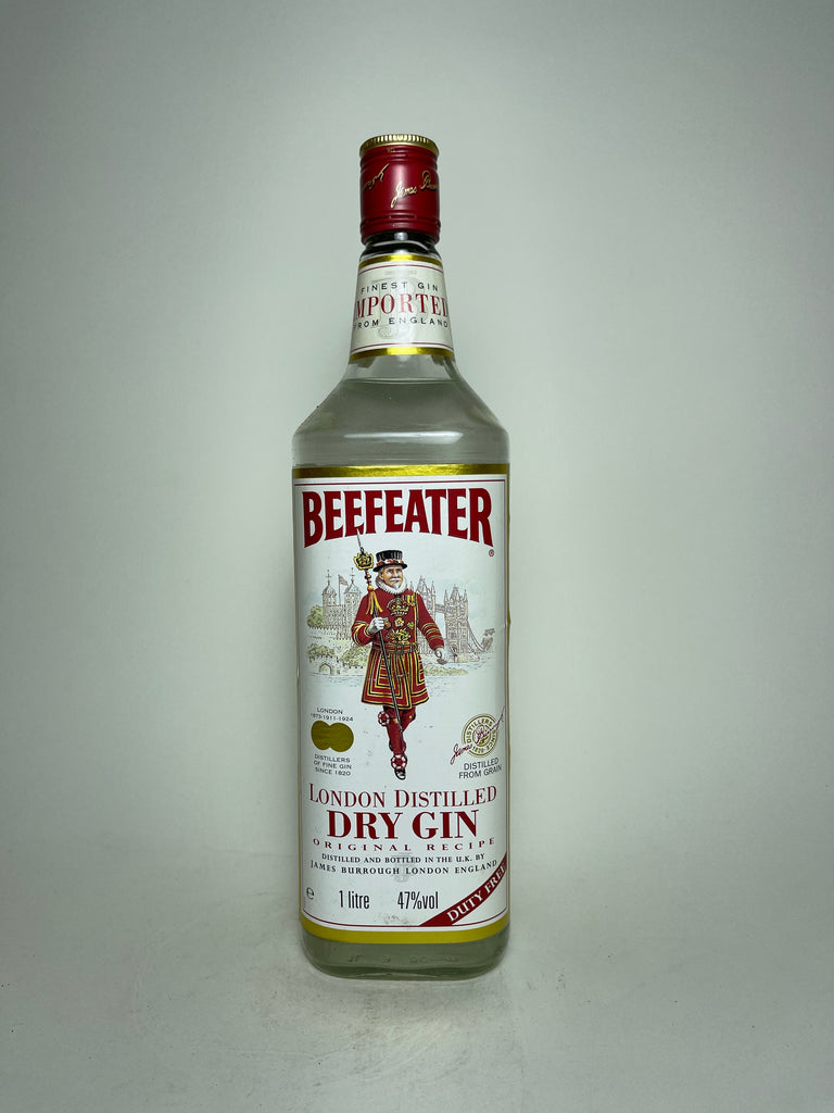 James Burrough's Beefeater London Dry Gin - 1990s (47%, 100cl)