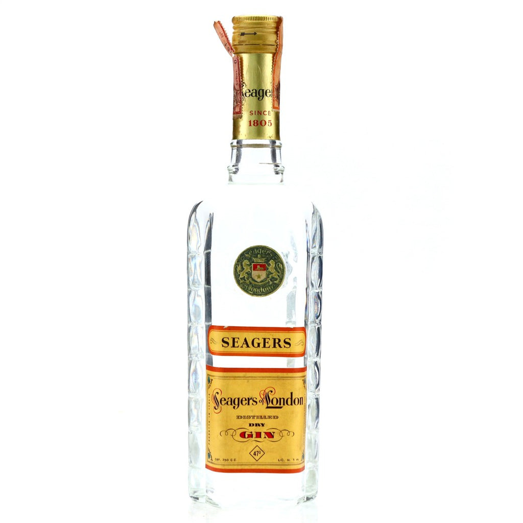 Seager's London Dry Gin - 1960s (45%, 75cl)