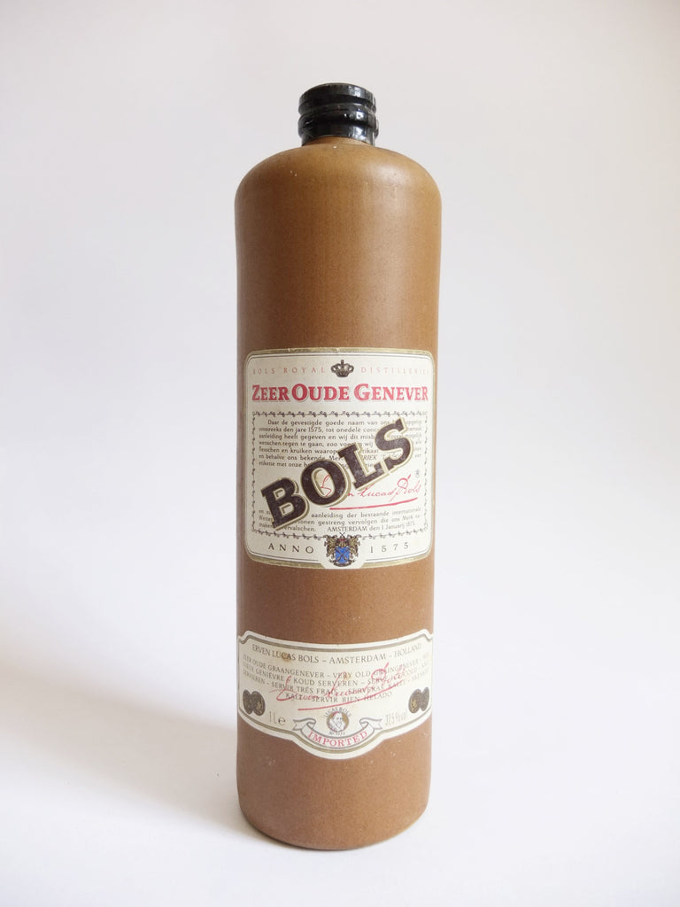 Bols Zeer Oude Genever - Late 1980s (37.5%, 100cl)
