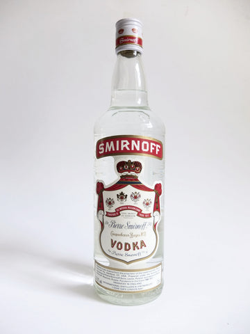 Smirnoff Red Label Vodka - 1990s (37.5%,75cl)