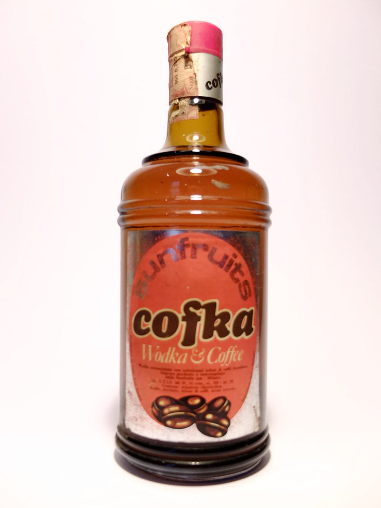 Sunfruits' Cofka Coffee Vodka - 1970s (38%, 70cl)