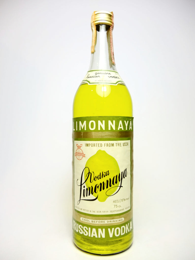 Limonnaya Vodka - 1970s (40%, 75cl)