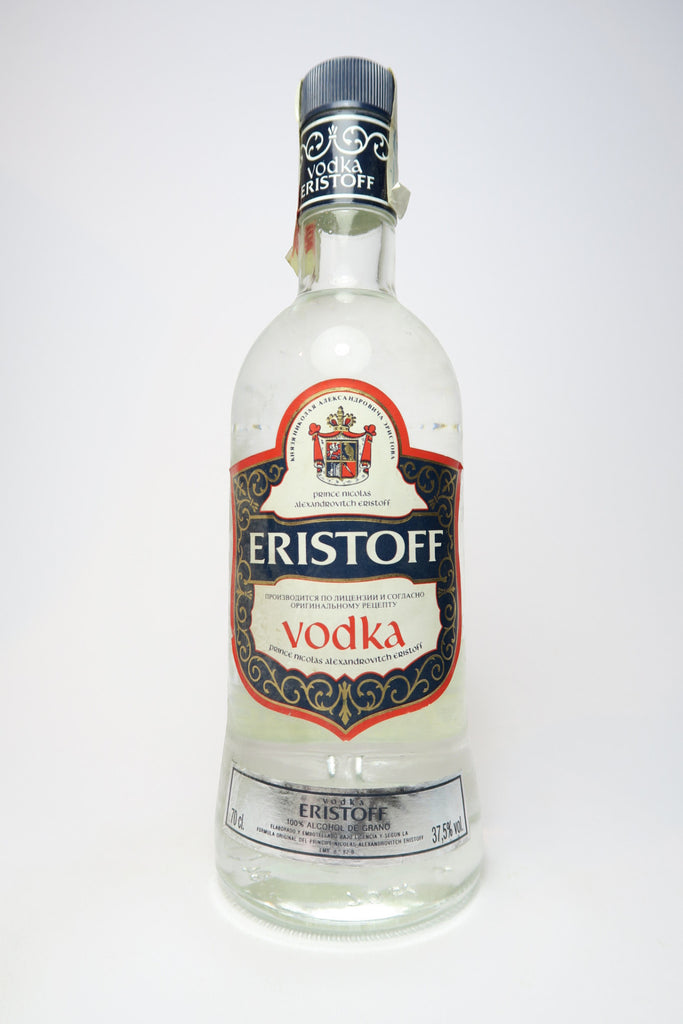 Eristoff Vodka - 1990s (37.5%, 70cl)