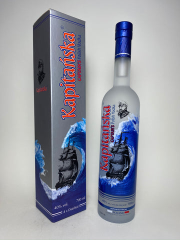 Polmos Kapitanska Captain's Polish Vodka - Dated 2006, (40%, 70cl)