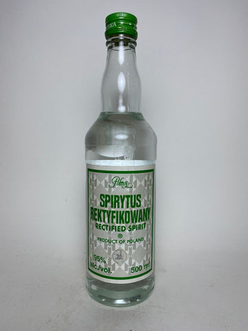 Polmos Spirytus Rektyfikowany Polish Rectified Spirit - Bottled 2011, (95%, 50cl)