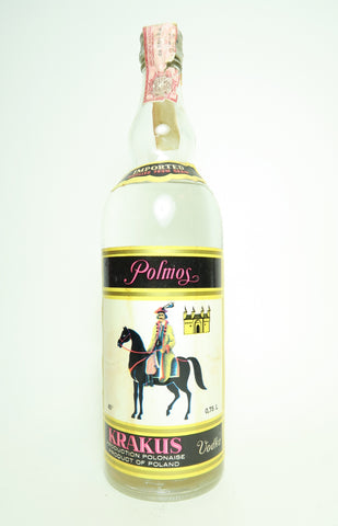 Polmos Krakus Polish Vodka - 1970s (40%, 75cl)