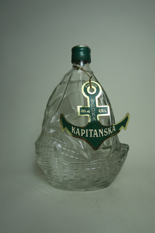 Polmos Kapitanska Vodka - 1980s, (40%, 75cl)