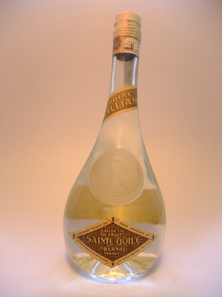 Saint-Odile Poire William - 1970s (45%, 75cl)