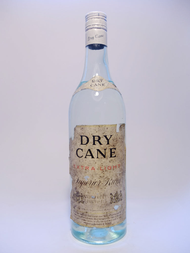 Dry Cane Extra Light Superior Rum - 1970s (40%, 75.7cl)