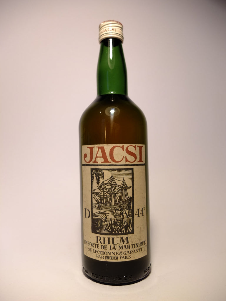Jacsi Martinique Rhum - 1960s (44%, 100cl)