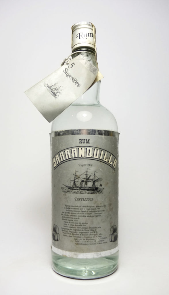 Barranquilla Light Dry Rum - 1970s (43%, 75cl)