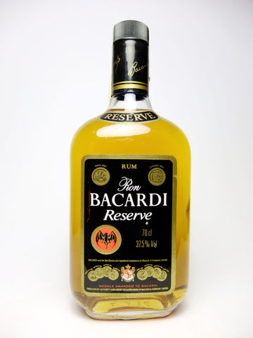 Bacardi Reserve - 1980s (37.5%, 70cl)