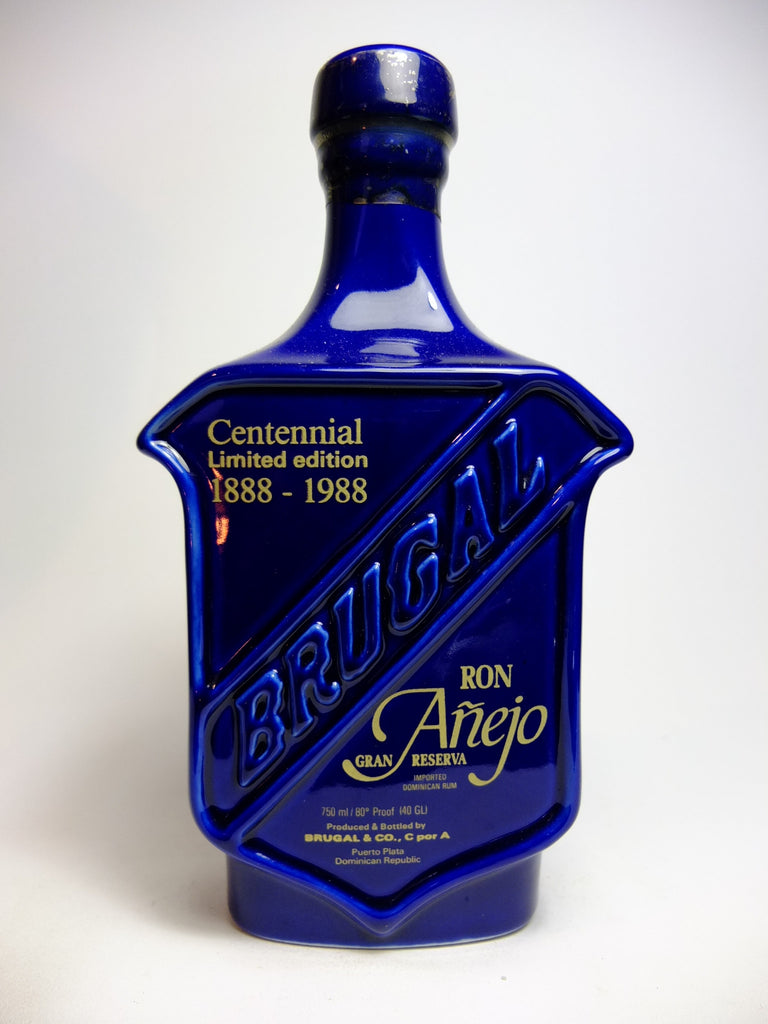 Brugal Ron Añejo Gran Reserva Centennial (1888-1988) Limited Edition - 1980s (40%, 75cl)