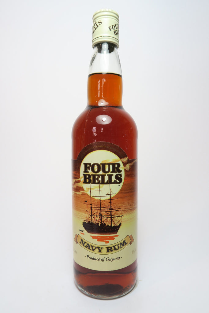 Four Bells Guyanese Navy Rum - 1990s (40%, 70cl)