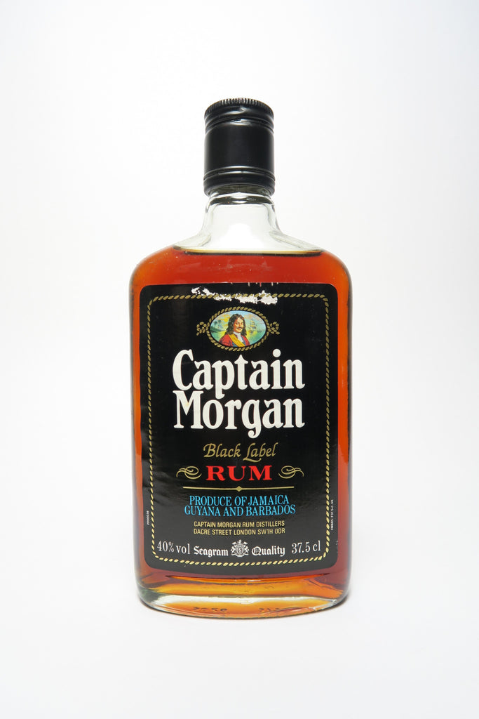 Captain Morgan Dark Rum - 1980s (40%, 37.5cl)