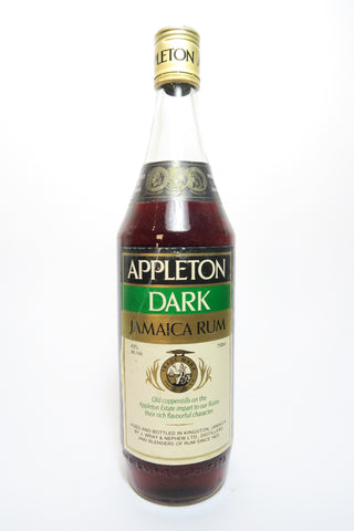 Appleton Dark Jamaican Rum - 1970s (43%, 75cl)
