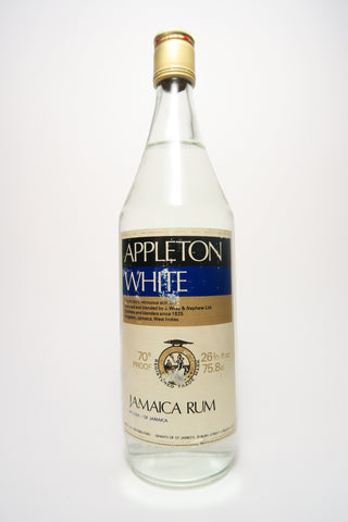 Appleton White Jamaica Rum - 1970s (40%, 75cl)