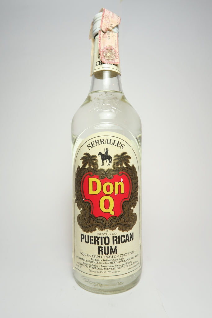 Serralles Don Q Blanco	- 1970s (40%, 75cl)