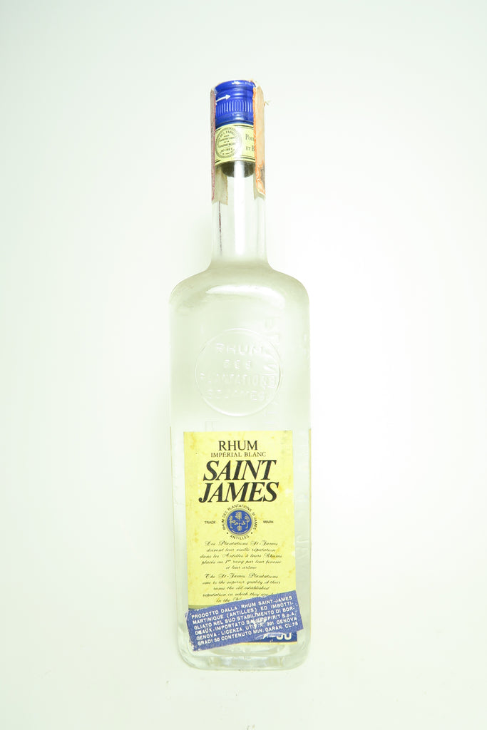 Saint-James Martinique Rhum Impérial Blanc - 1970s (50%, 75cl)