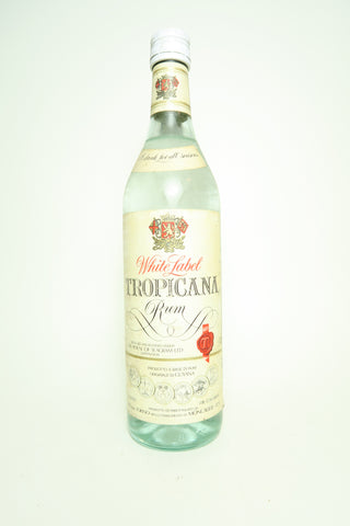 Seagram's White Label Tropicana Guyanese Rum - 1970s, (40%, 75cl)