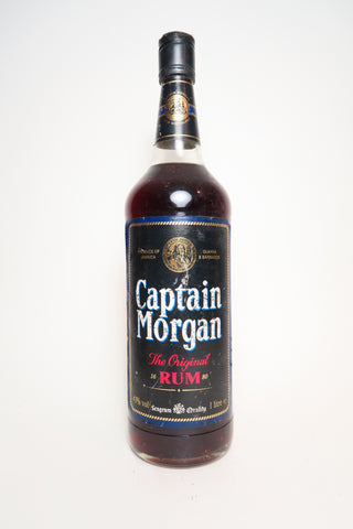 Seagram's Captain Morgan Rum - 1980s (43%, 100cl)