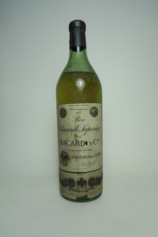Bacardi Carta Blanca - 1910s (ABV Not Stated, 75cl)