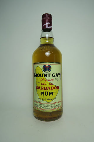 Mount Gay Eclipse Barbados Rum - 1990s (40%, 70cl)
