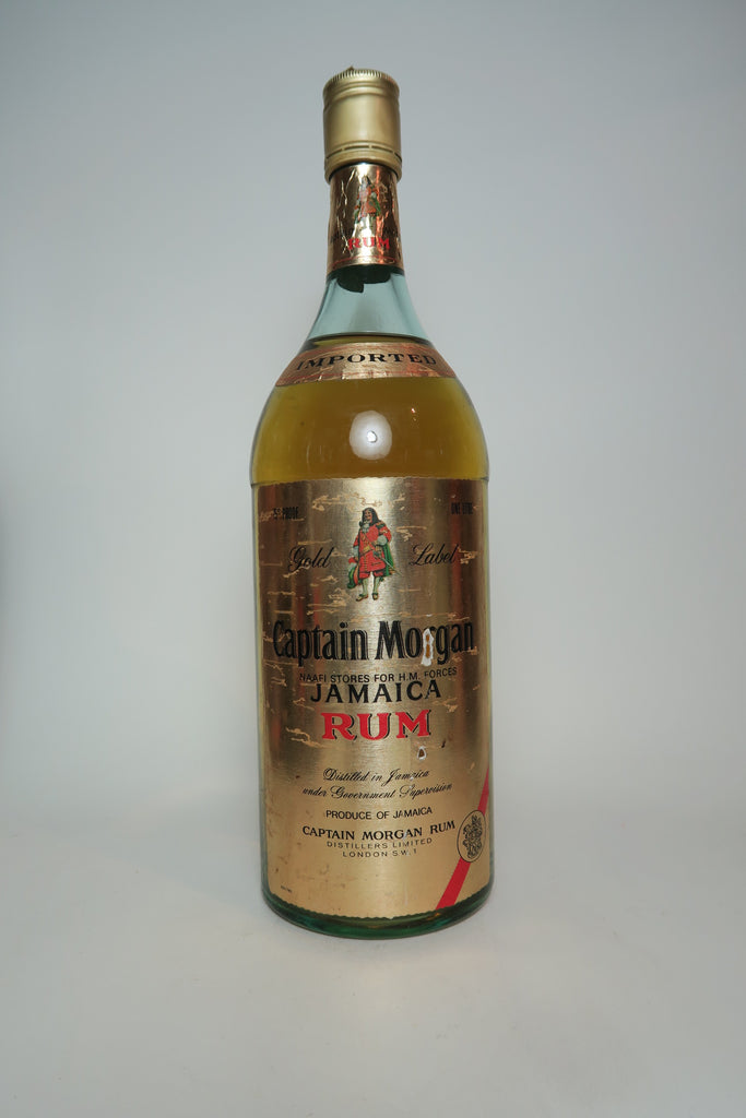 Captain Morgan Gold Label Jamaica Rum - 1970s (43%, 100cl)