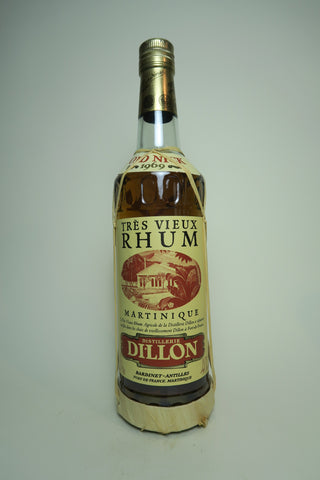 Dillon Très Vieux Martinique Rhum - Distilled 1969 / Bottled 1990s (40%, 70cl)