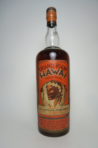 Gangneux & Tanet Grand Rhum Hawaï - 1930s (ABV Not Stated, 100cl)