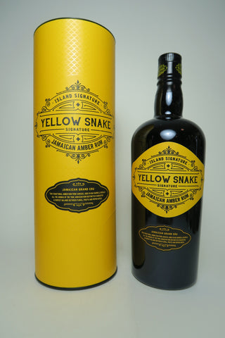 Island Signature Yellow Snake Jamaican Amber Rum - Bottled 2019, (40%, 70cl)