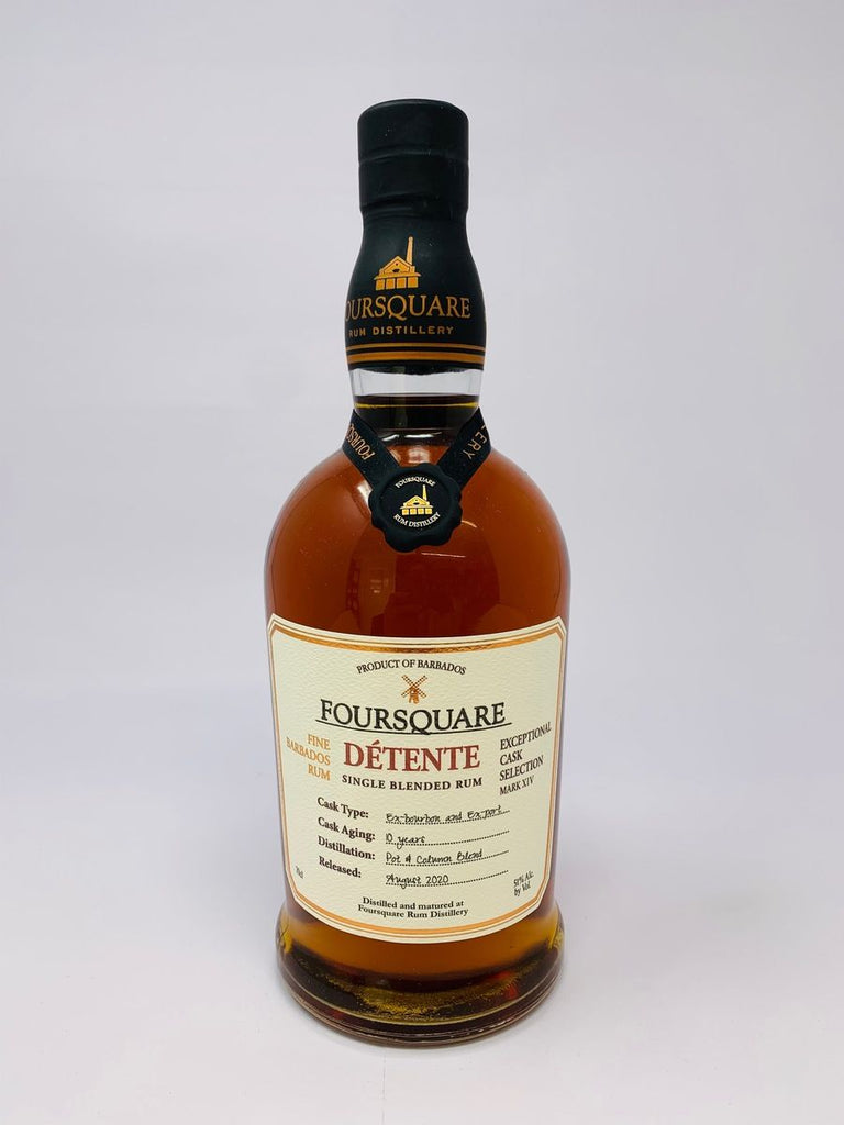 Foursquare Détente Exceptional Cask Selection Mark XIV 10YO Fine Barbados Single Blended Rum - Distilled 2010 / Released 2020 (51%, 70cl)