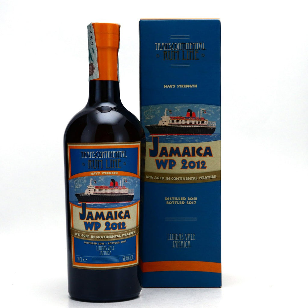 Transcontinental Rum Line Worthy Park Navy Strength 4YO - Distilled 2012 / Bottled 2017 (57%, 70cl)