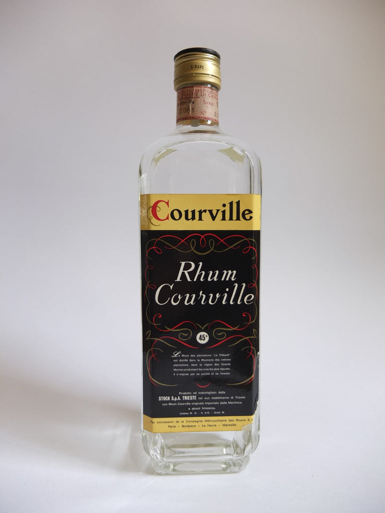 Stock's Rhum Courville Martiniquan Rum - 1970s (45%, 75cl)