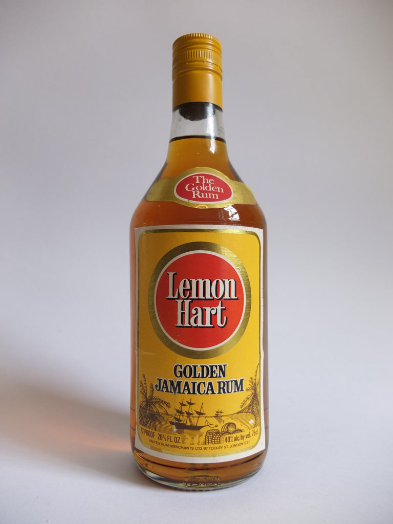 Lemon Hart Golden Jamaica Rum - 1970s (40%, 75cl)