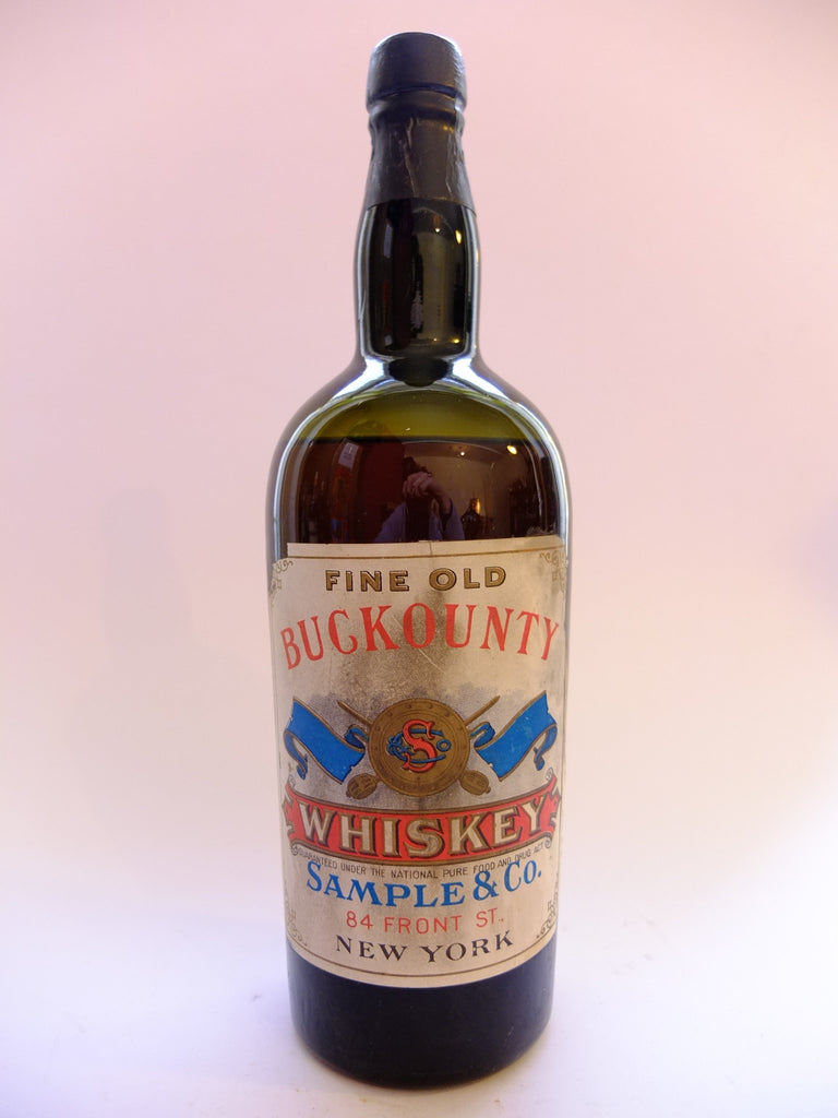 Buckounty Blended American Whiskey - Post-1906 (ABV?, 94.6cl)