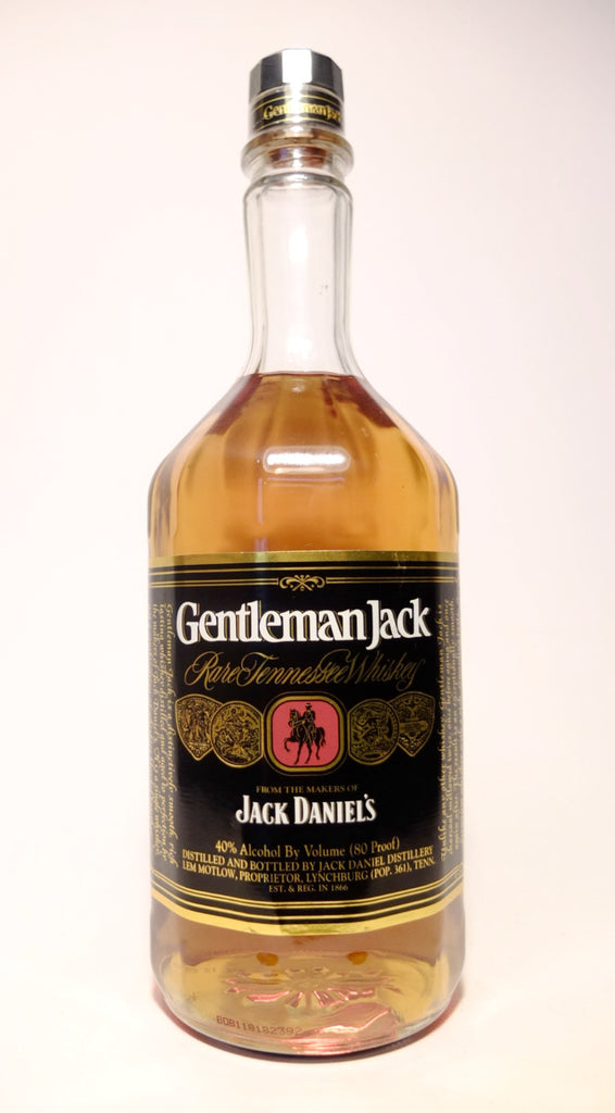 Jack Daniel's 'Gentleman Jack' Rare Tennessee Whiskey - 1988-1991 (40%, 100cl)