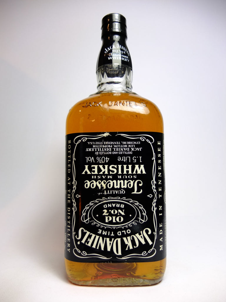 Jack Daniel's Tennessee Sour Mash Whiskey - Bottled 1999 (40%, 150cl)