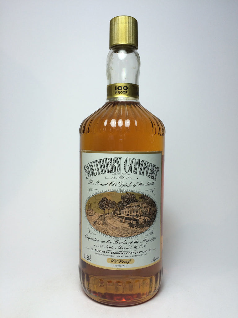 Southern Comfort - 1980s (50%, 113.6cl)