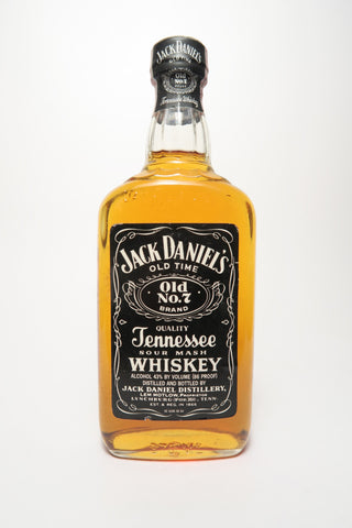 Jack Daniel's Tennessee Sour Mash Whiskey - Bottled 1986 (43%, 37.5cl)