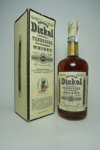 George Dickel Tennessee Sour Mash Whisky - Bottled 1992 (43%, 100cl)