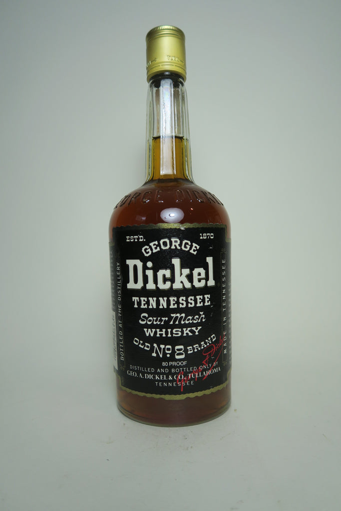George Dickel Tennessee Sour Mash Whisky - Bottled 1995 (40%, 75cl)