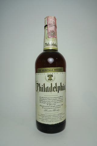 Continental Distilling Corporation's Philadelphia 8YO Blended American Whiskey - Distilled 1963 / Bottled 1971 (43%, 75cl)