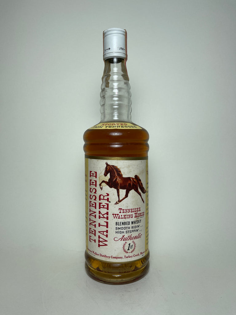 Tennessee Walking Horse Tennessee Walker Blended Tennessee Whiskey - Bottled 1966 (43.4%, 75.7cl)