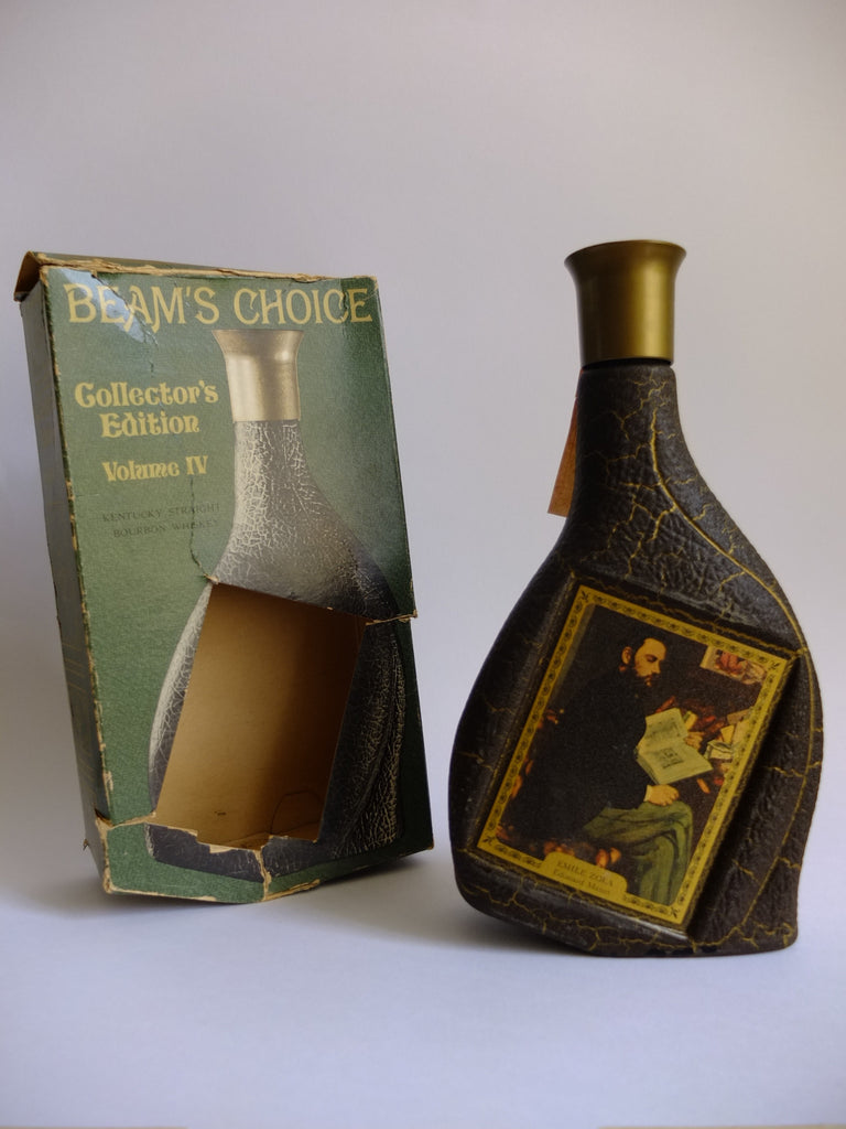 Jim Beam Beam's Choice Collector's Edition Volume IV 'Emile Zola' by Edouard Manet 8YO Kentucky Straight Bourbon Whiskey - Distilled 1961/Bottled 1969 (43%, 75.7cl)