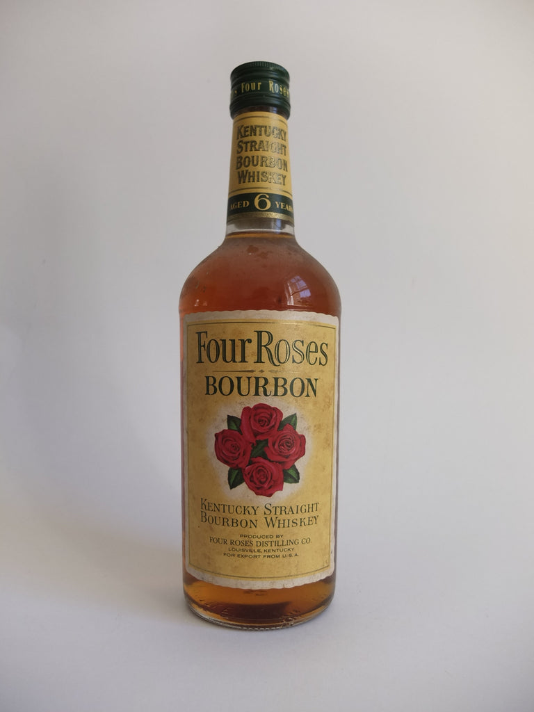 Four Roses 6YO Kentucky Straight Bourbon Whiskey - 1970s (43%, 75cl)