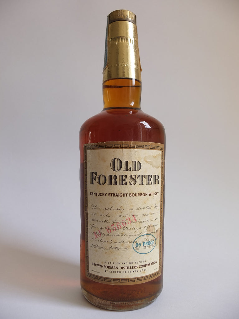 Old Forester Kentucky Straight Bourbon Whisky - 1975 (43%, 75.7cl)