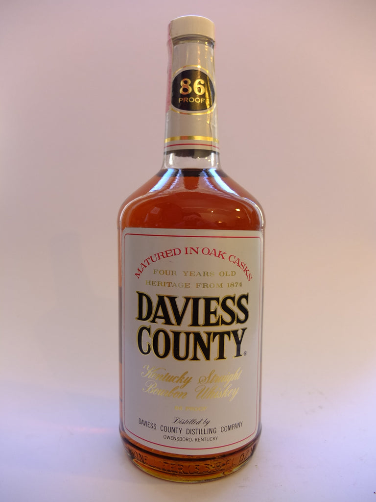 Daviess Country 4YO Kentucky Straight Bourbon Whiskey - 1978 (43%,94.6cl)