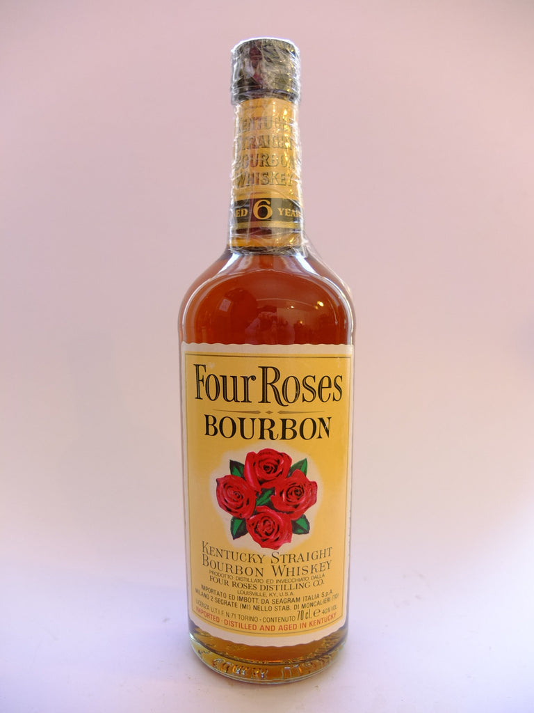 Four Roses 6YO Kentucky Straight Bourbon Whiskey - 1980s (40%, 70cl)