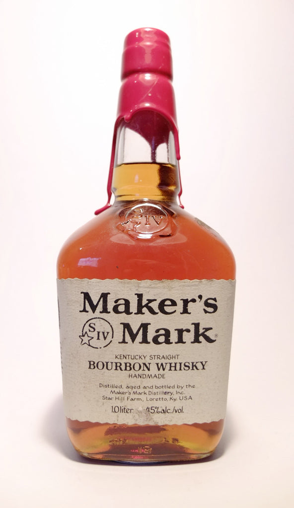Maker's Mark Kentucky Straight Bourbon Whiskey - Bottled 2001 (45%, 100cl)